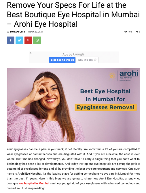 Arohi Eye Hospital